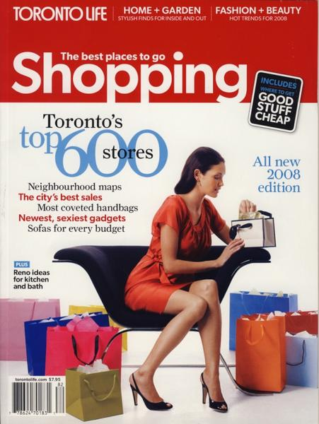 Toronto Life - The best places to go Shopping