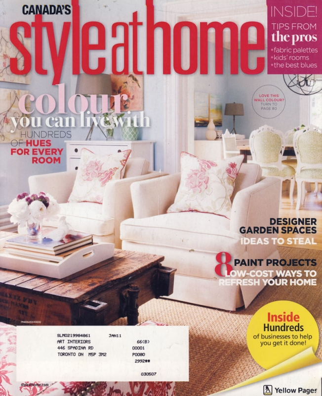 Style at Home May 2010