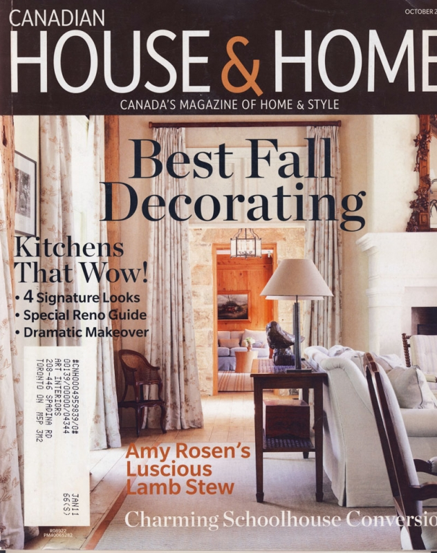 House & Home October 2010
