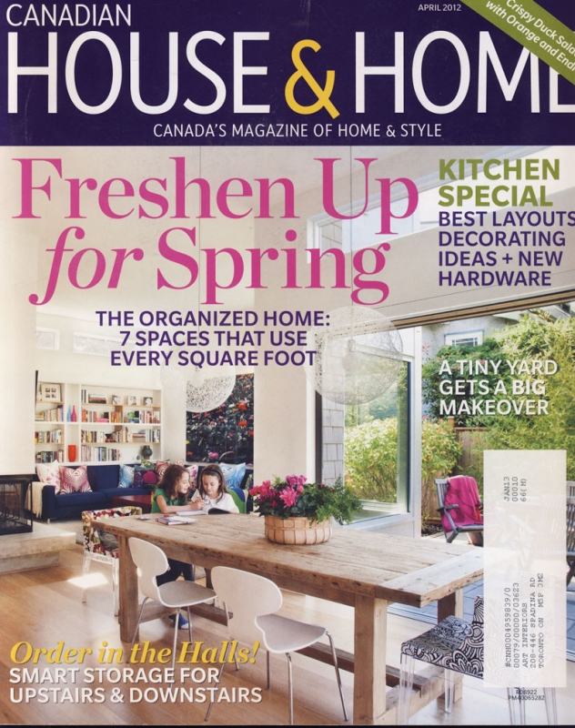 House & Home April 2012