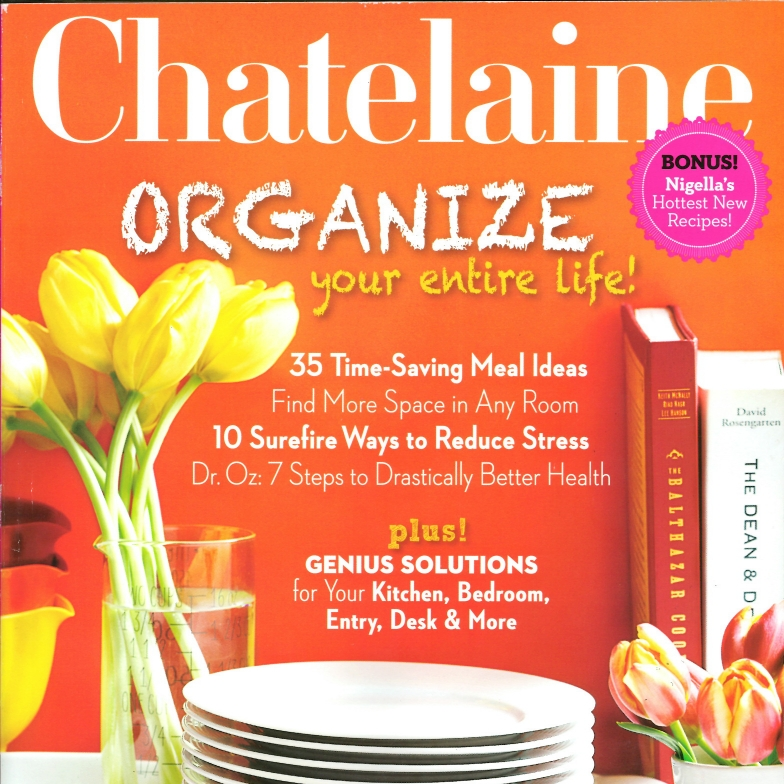 Chatelaine March 2013