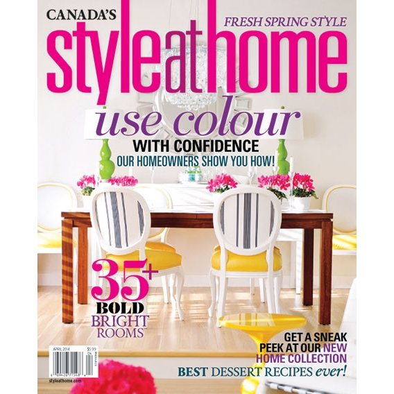 Style at Home April 2014