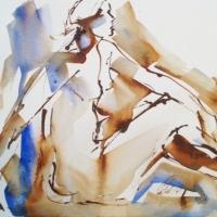 Mel Delija - Seated Nude IV