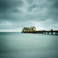 David Ellingsen - The Gulf of Mexico #30, Rod + Peel Pier