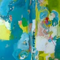 Emilie Rondeau - Mur turquoise