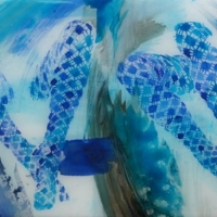 Agnieszka Foltyn - Stockings - Blue