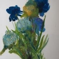 Madeleine Lamont - Floral Series (Blue Bouquet)