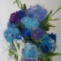 Madeleine Lamont - Floral Series (Blue)