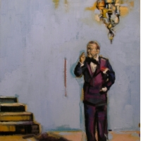 Lorena Ziraldo - Man In A Suit, Thinking