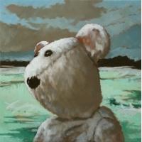 Marcel Kerkhoff - Bear in Landscape
