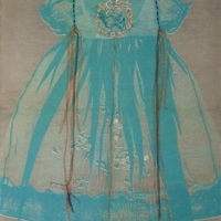 Susan Fothergill - Baby Dress and Bluebird
