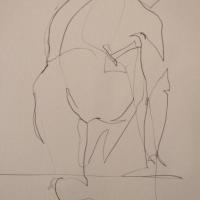 Mel Delija - Nude Climbing