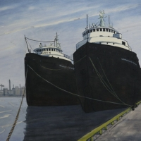 Peer Christensen - Great Lakes Freighters, Toronto Harbour