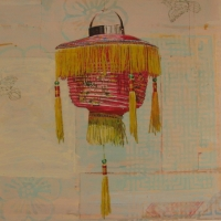 Mary Lottridge - Fringed Lantern #1