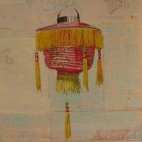 Mary Lottridge - Fringed Lantern #1