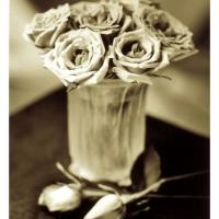 Tom Horbett - Roses and Lalique Vase