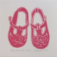 Susan Fothergill - Baby Shoes with Roses