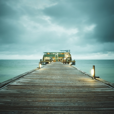 David Ellingsen - The Gulf of Mexico #33, Rod + Reel Pier