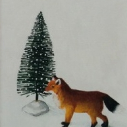Emily Bickell - Brush Tree and Fox 2