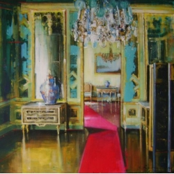 Hanna Ruminski - Lacquer Room with Divider