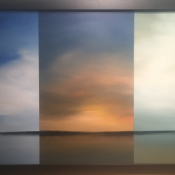 Scott Steele - abstract three panel