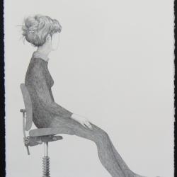 J. Joel - Girl on a Chair