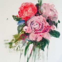 Madeleine Lamont - Pink Bouquet II