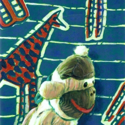 Marcel Kerkhoff - Sock Monkeys with Giraffes