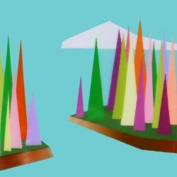 Kristofir  Dean  - Floating Mini Forest 1