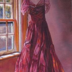 Emma Hesse - Red Dress WIndow