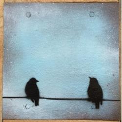 Ian Busher  - Birds on Wire