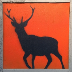 Ian Busher  - Orange Deer