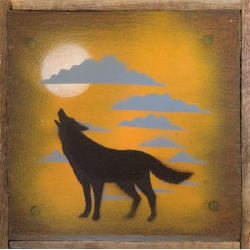 Ian Busher  - Orange Wolf