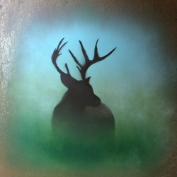 Ian Busher  - Turned Stag