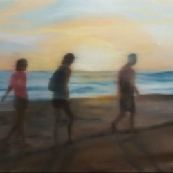 Shannon  Dickie  - Sunset at the Beach