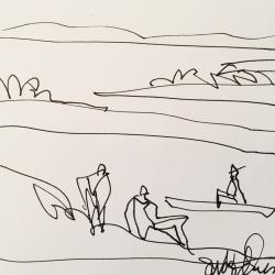 Susan McLean Woodburn - Cottage Days 4