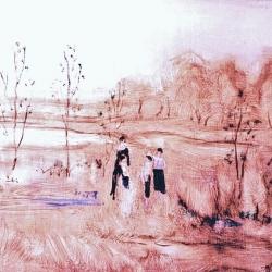 Susan McLean Woodburn - Spring Picnic
