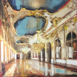 Hanna Ruminski - Large Gallery with Ceiling Fresco