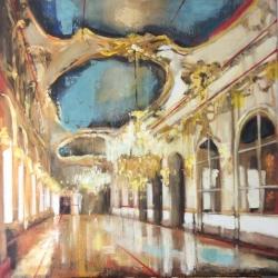 Hanna Ruminski - Large Gallery with Ceiling Fresco