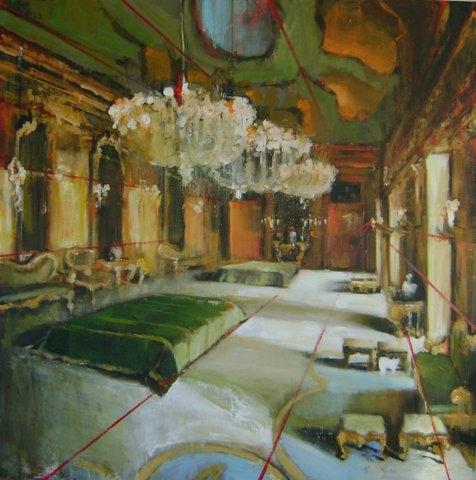 Sicilian Mirrored Ballroom by Hanna Ruminski
