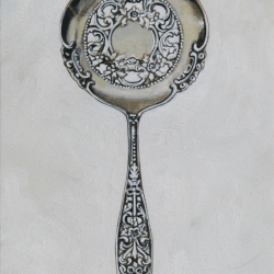 Lindsay Chambers - Strainer Spoon White