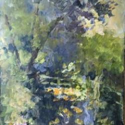 Masood Omer - Land and Trees 4