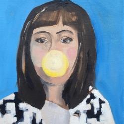 Frances  Hahn - Houndstooth