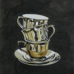 Lindsay Chambers - Reflective Tea Cups