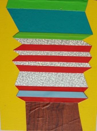 Zag Medium 3 by Janine Miedzik