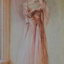 Emma Hesse - Untitled (Pink Dress 2) 2016