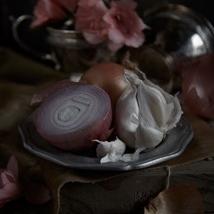 Kristin  Sjaarda - Ranunculus (detail 2, onion)