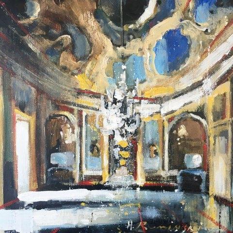 Palazzo XVII by Hanna Ruminski