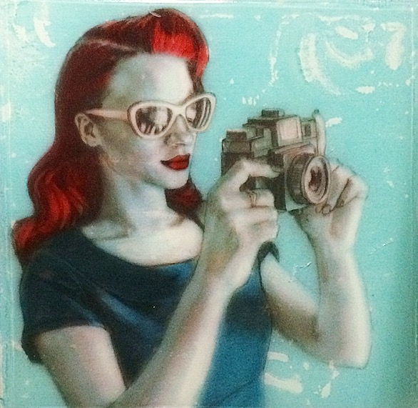 Red Holga  by Kelly Grace