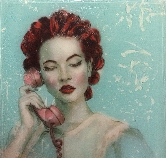 Rotary Dial #2 by Kelly Grace